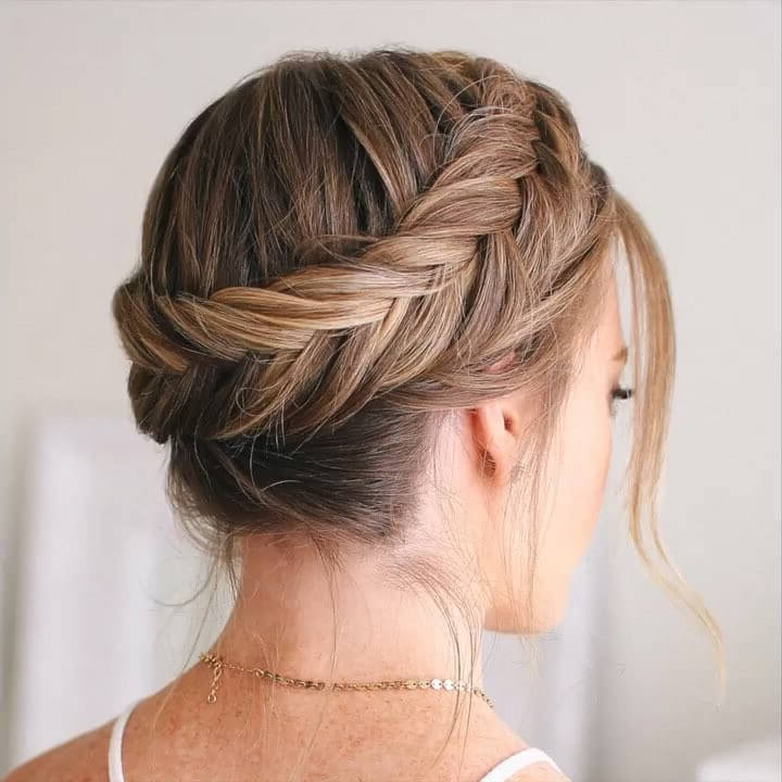 Dutch-Fishtail-Crown-Braid-Hairstyle - K4 Fashion pertaining to Most Recently Fishtail Crown Braided Hairstyles