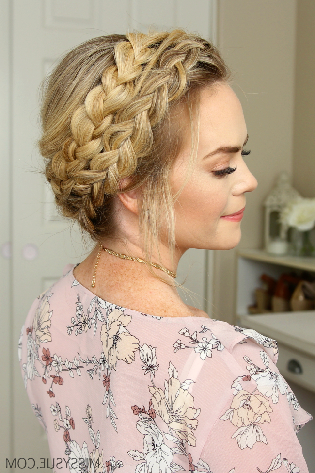 Dutch Milkmaid Braids | Missy Sue intended for Latest Milkmaid Crown Braided Hairstyles