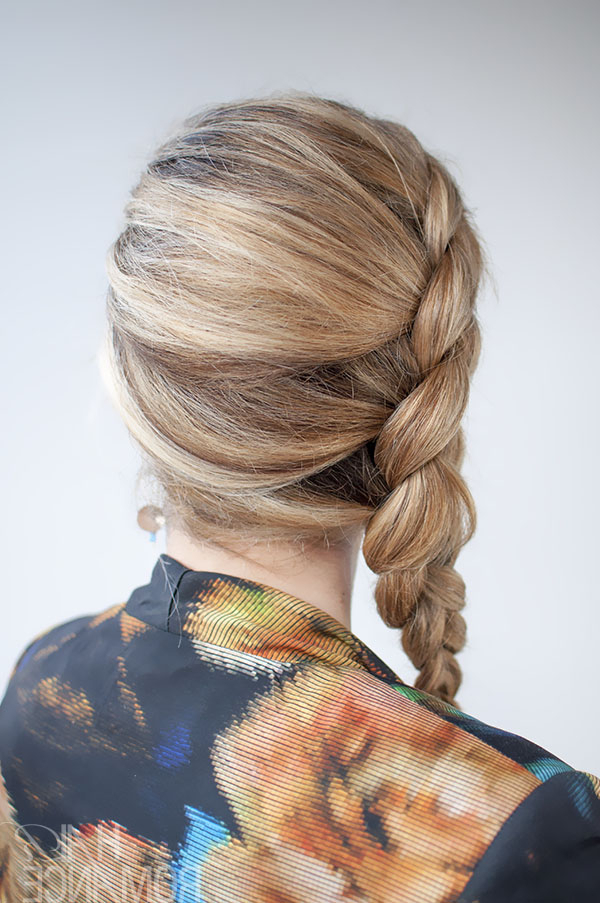 Dutch Side Braid Hairstyle Tutorial – Hair Romance For Most Recent Side Dutch Braided Hairstyles (View 19 of 25)