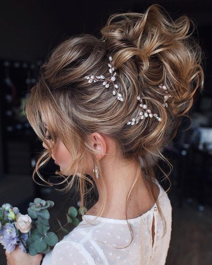 ? 1001 + Ideas – Trendiest Wedding Hairstyles For Wedding Pertaining To Pearl Bun Updo Hairstyles (View 19 of 25)