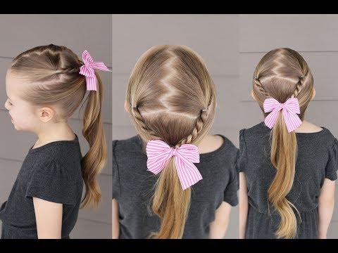 Easy Zig Zag Ponytail | Q's Hairdos With Regard To Zig Zag Ponytail Updo Hairstyles (View 22 of 25)
