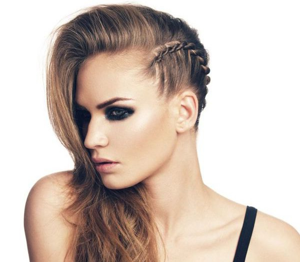 Faux Undercut Braid: How To - with Newest Faux Undercut Braided Hairstyles