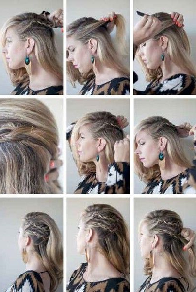 Featured Photo of Faux Undercut Braided Hairstyles
