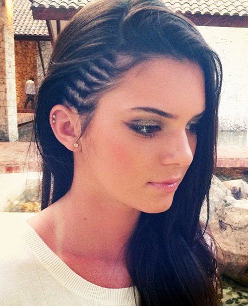 Faux Undercut Style Side Braids – Strayhair inside Most Recently Faux Undercut Braided Hairstyles