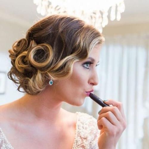 Feel & Look Vintage With These 50 Superb Hairstyles | Hair Regarding Pinned Curls Hairstyles (View 10 of 25)