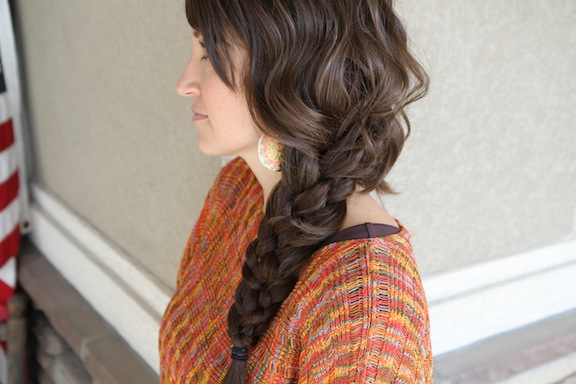 Five {5} Strand Messy Braid | Top Hairstyles | Cute Girls intended for Best and Newest Three Strand Side Braided Hairstyles
