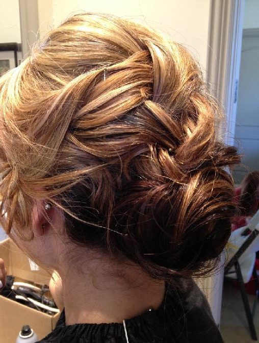 French Braid Low Chignon | Hairstyles How To in Newest French Braid Low Chignon Hairstyles