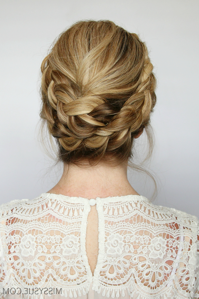French Milkmaid Braids | Missy Sue with Current Milkmaid Crown Braided Hairstyles