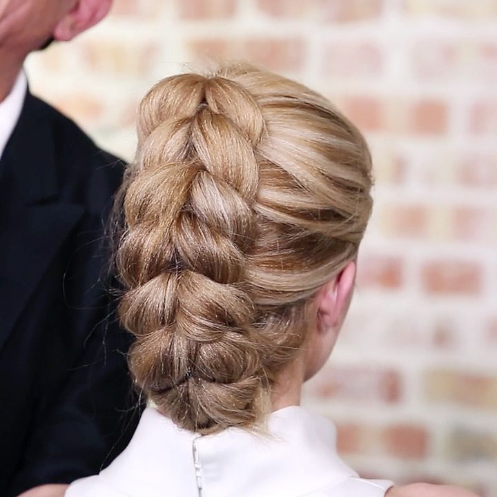 French Pull Through Braid Ponytail | Sam Villa On Youtube Within Pull Through Ponytail Updo Hairstyles (View 5 of 25)