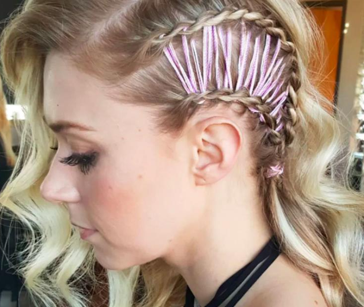 Get This Look The Corset Braid   Hair Extensions News Inside Best And Newest Corset Braided Hairstyles (View 22 of 25)