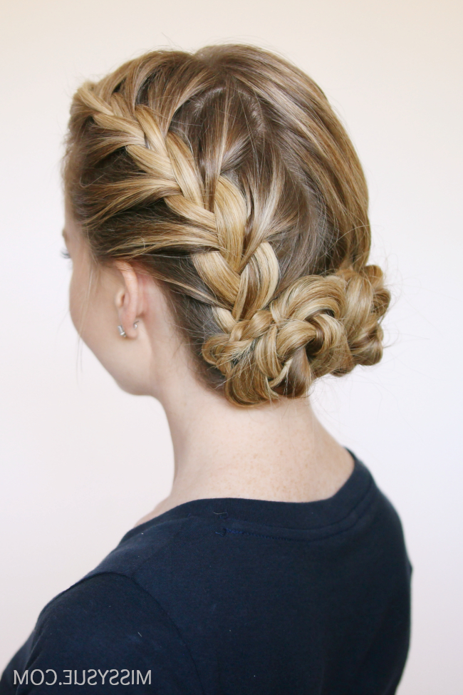 Gorgeous Low Bun Hairstyles   Big Southern Hair   Bun With Regard To Newest French Braid Low Chignon Hairstyles (View 3 of 25)