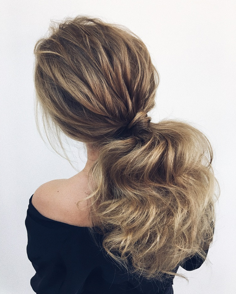 Gorgeous Ponytail Hairstyle Ideas That Will Leave You In Fab in Romantic Ponytail Updo Hairstyles