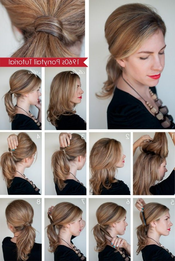 Featured Photo of Romantic Ponytail Updo Hairstyles