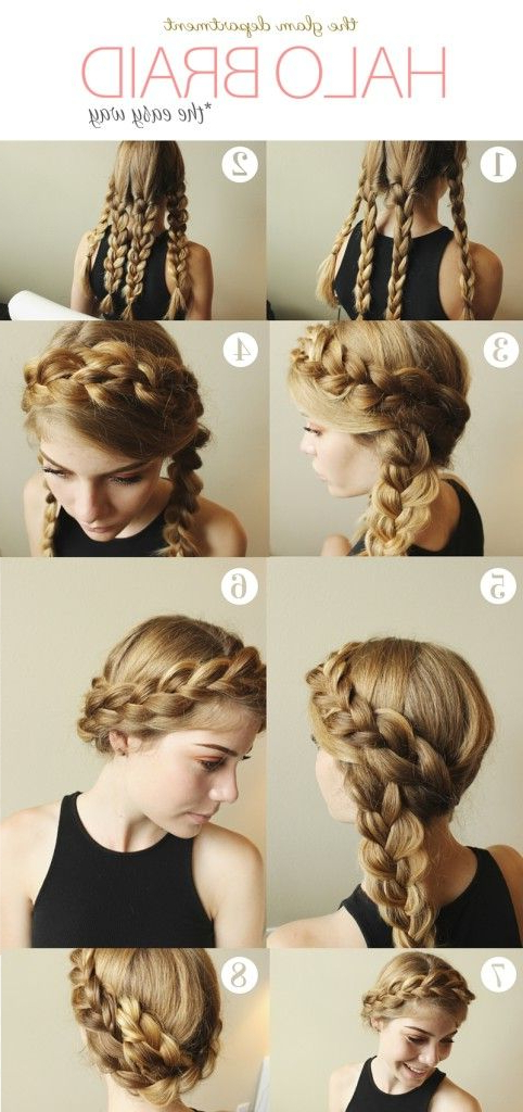 Halo Braid Hack! Www (View 3 of 25)