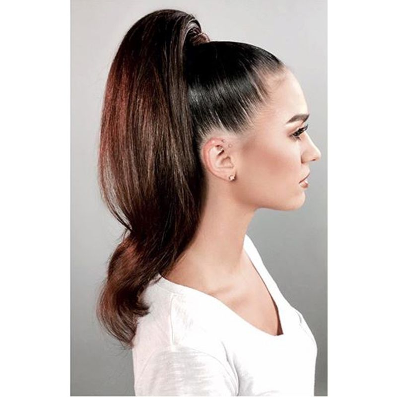 High Ponytail Hairstyle For Long Hair | Ponytails In 2019 With Regard To Sky High Pony Updo Hairstyles (View 11 of 25)
