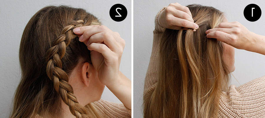 How To Create A Braided Chignon – More Pertaining To Most Current Braided Chignon Hairstyles (View 13 of 25)