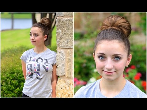 How To Create A Fan Bun | Updo Hairstyles Inside Bubble Pony Updo Hairstyles (View 24 of 25)