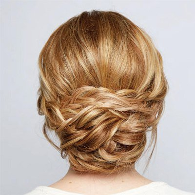 How To Diy Chic Braided Chignon Hairstyle Pertaining To Current Braided Chignon Hairstyles (View 5 of 25)