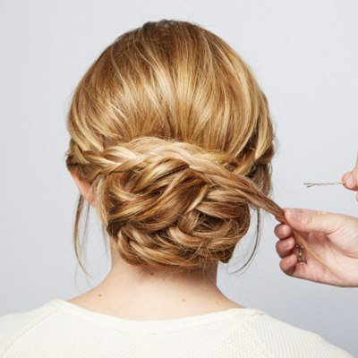 How To Diy Chic Braided Chignon Hairstyle Regarding Newest Braided Chignon Hairstyles (View 15 of 25)