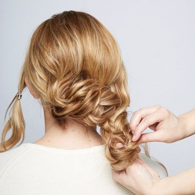 How To Diy Chic Braided Chignon Hairstyle With Regard To Latest Braided Chignon Hairstyles (View 24 of 25)