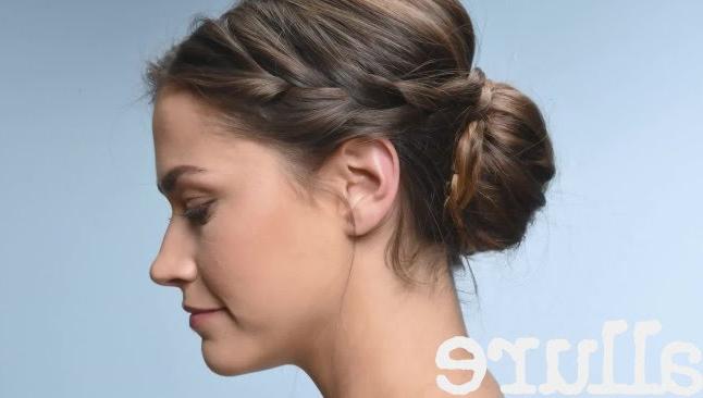 How To Do A Criss Cross Braided Bun Pertaining To Criss Cross Braid Bun Hairstyles (View 10 of 25)