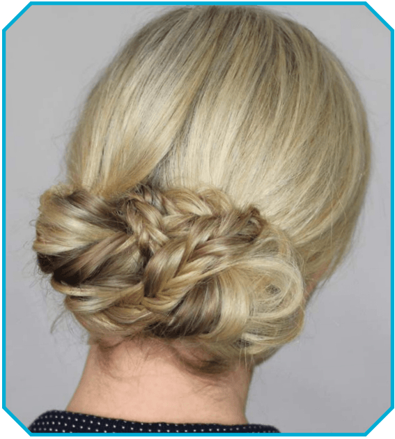 How To Do A Fishtail Bun On Yourself Hairstyle With Regard To Teased Fishtail Bun Updo Hairstyles (View 20 of 25)
