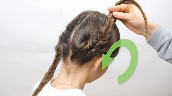 How To Do A Fishtail Crown Braid: 10 Steps (With Pictures) Throughout Current Fishtail Crown Braided Hairstyles (View 6 of 25)