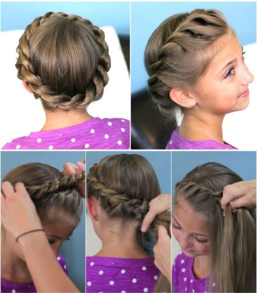 How To Do Cute Crown Rope Twist Hair Braid Updo Hairstyles With Regard To Twisted Rope Braid Updo Hairstyles (View 3 of 25)