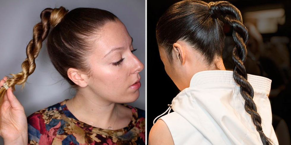 How To Do The New Rope Braid Ponytail With High Rope Braid Hairstyles (View 11 of 25)
