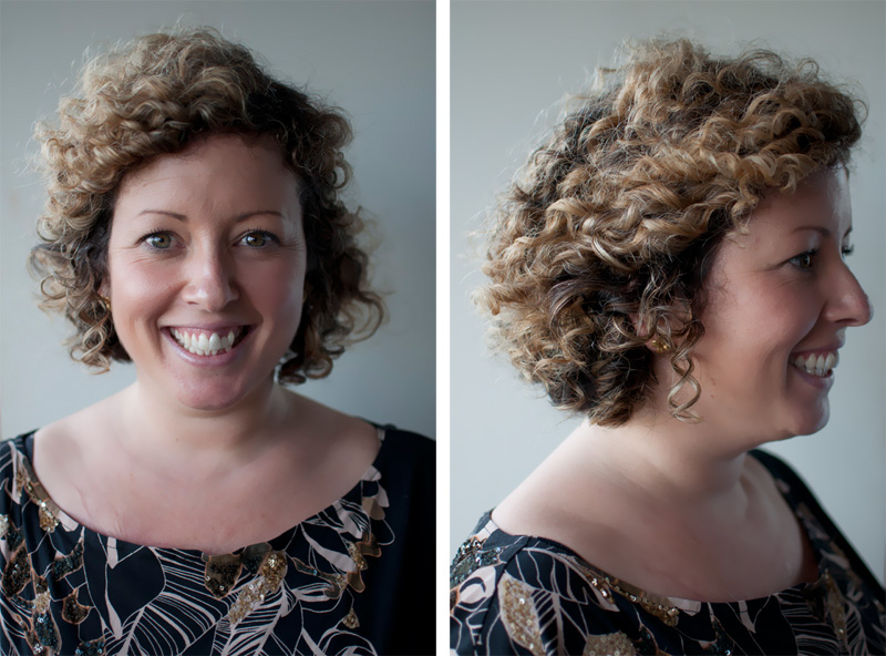 How To Style Short Curly Hair – Hair Romance Pertaining To Pinned Curls Hairstyles (View 15 of 25)