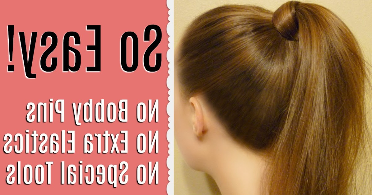 How To Wrap Hair Around A Ponytail | Hairstyles For Girls Intended For Wrapped Ponytail Hairstyles (View 14 of 25)