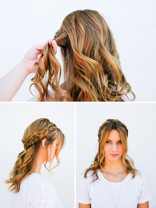 I Can See Your Halo, Halo: A Half Halo Braid Tutorial In 10 With Best And Newest Halo Braided Hairstyles (View 22 of 25)