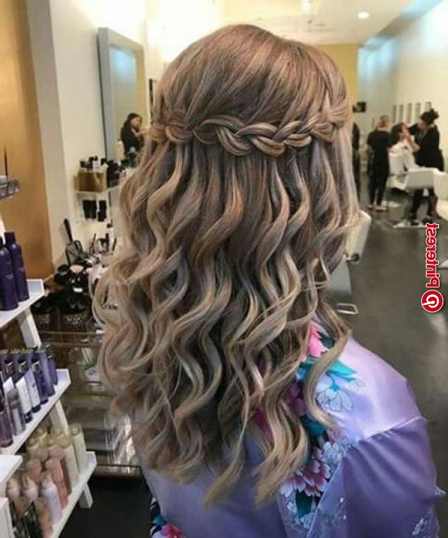 Ideal Waterfall Braided Hairstyles 2019 That Are Simply For Waterfall Braids Hairstyles (View 24 of 25)