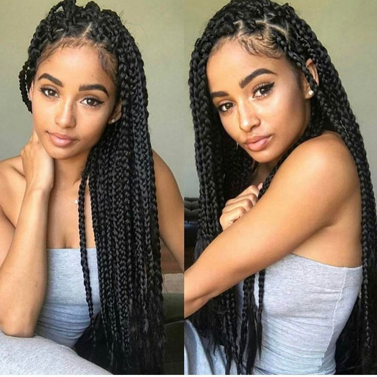Image Result For Box Braids Hairstyles 2017 | Braids | Box With Most Recently Box Braided Hairstyles (View 20 of 25)