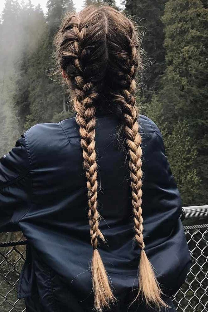 It's Time To Forget About Usual French Braid Hairstyles Within Newest Asymmetrical French Braided Hairstyles (View 4 of 25)