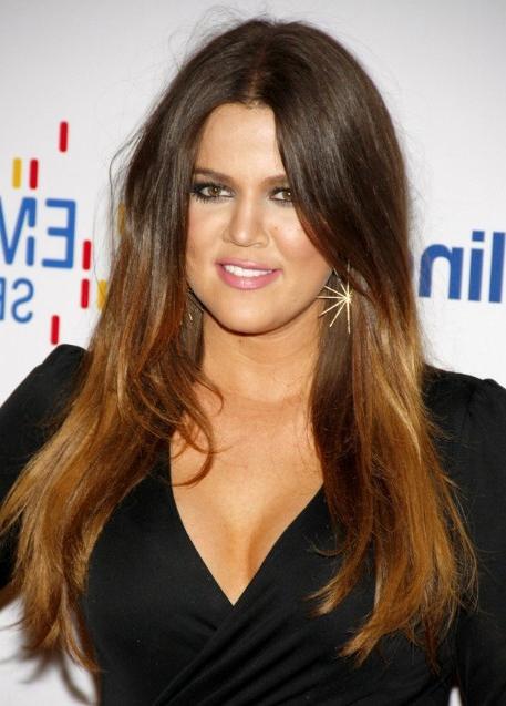 Khloe Kardashian Sleek And Straight Hair Style – Popular Regarding Straight And Sleek Hairstyles (View 18 of 25)