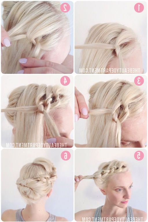 Featured Photo of Tie It Up Updo Hairstyles
