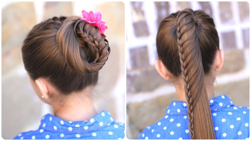 Lace Braided Ponytail And Updo | Cute Hairstyles | Cute Regarding Braided Ponytails Updo Hairstyles (View 25 of 25)