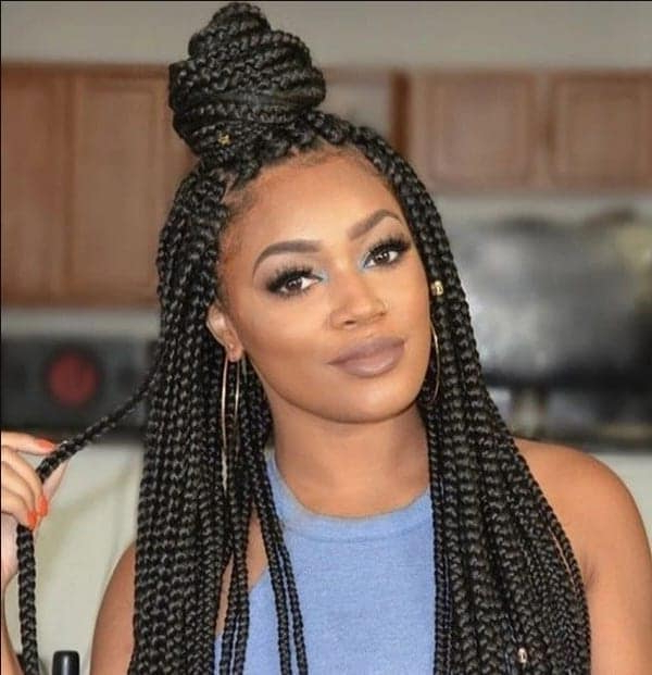 Latest Loose Box Braids Hairstyles ? Yen (View 23 of 25)