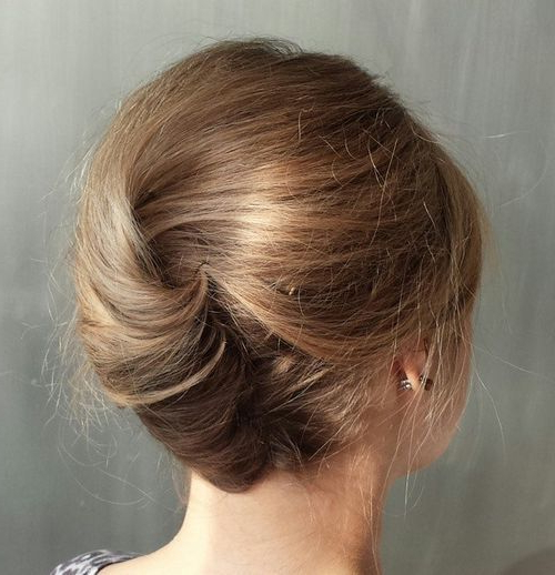 List Of 28 Easy Yet Stylish Updos For Long Hair + Images For Swirl Bun Updo Hairstyles (View 15 of 25)