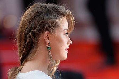 Look We Love: Amber Heard's Awesome Faux Undercut (And How Intended For Newest Faux Undercut Braided Hairstyles (View 23 of 25)