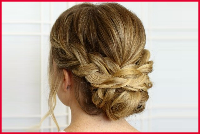 Low Messy Updo Hairstyles 269606 7 Plaited Low Bun With Regard To Best And Newest Plaited Low Bun Braided Hairstyles (View 4 of 25)