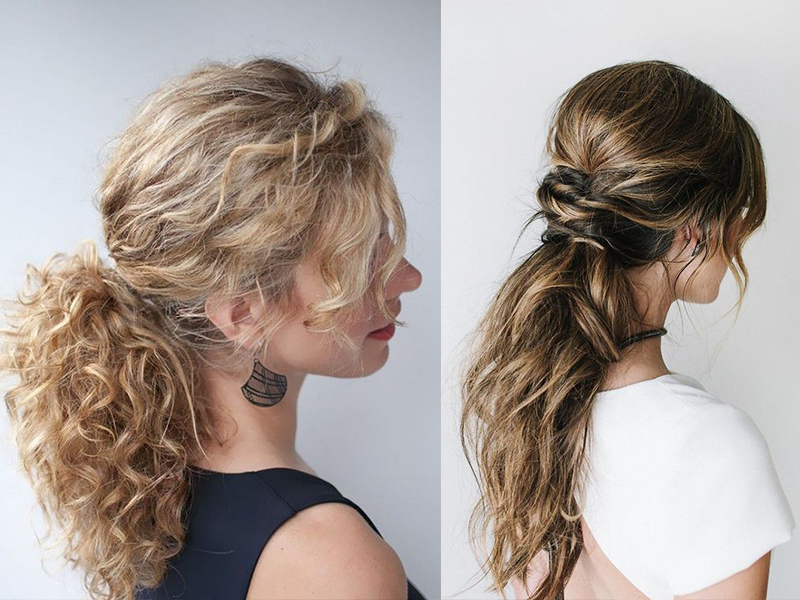 Low Ponytail Hairstyles For 2019: 4 Hair Inspirations For You Throughout Low Ponytail Hairstyles (View 16 of 25)
