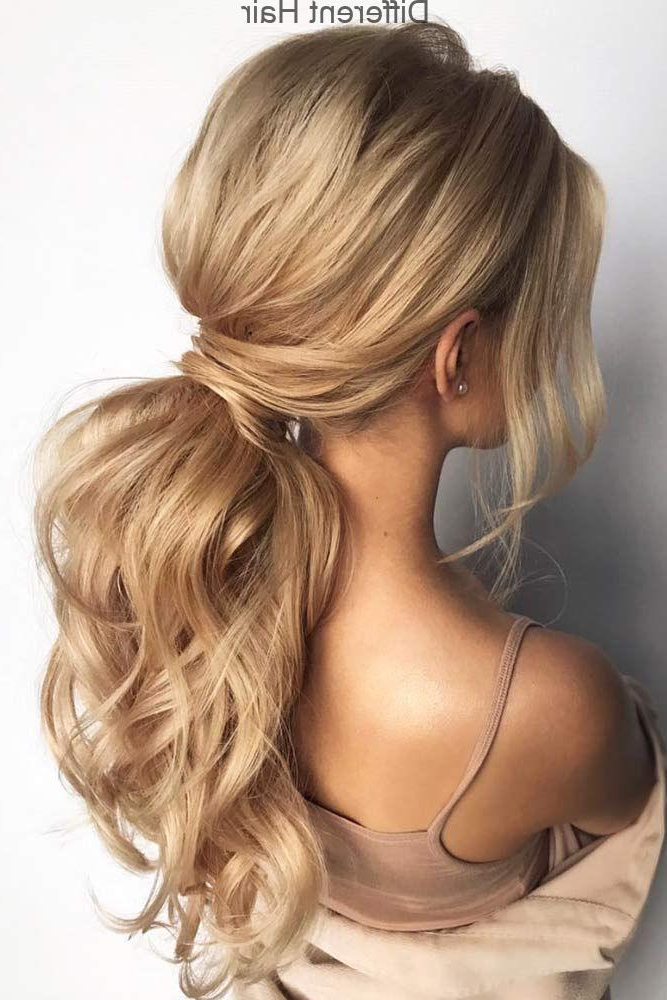 Low Ponytail Hairstyles #promhairstyles #longhair In Low Ponytail Hairstyles (View 4 of 25)