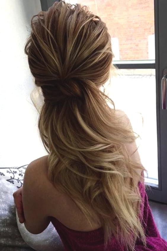 Low Ponytail Wedding Hairstyles Min | Ecemella Regarding Low Ponytail Hairstyles (View 22 of 25)