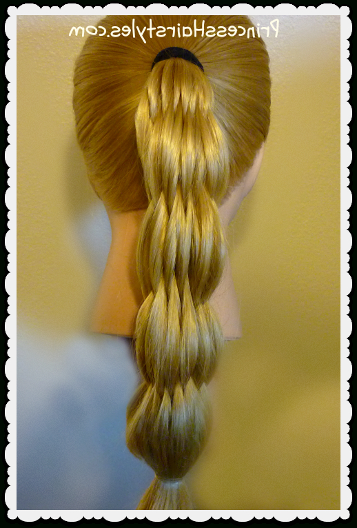 Multi Strand Pull Through Ponytail | Hairstyles For Girls In Pull Through Ponytail Updo Hairstyles (View 17 of 25)
