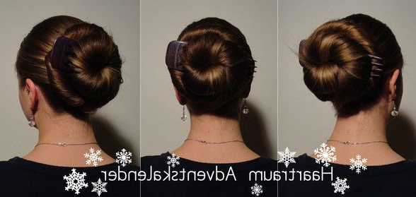 Nessa With A Center Held Cinnamon Bun | Beautiful Hair Inside Best And Newest Cinnamon Bun Braided Hairstyles (View 20 of 25)