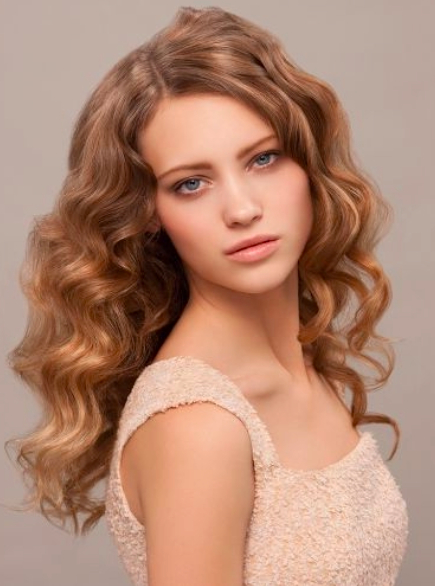 Overnight Wavy And Curly Hairstyles – Women Hairstyles Pertaining To Retro Curls Hairstyles (View 18 of 25)