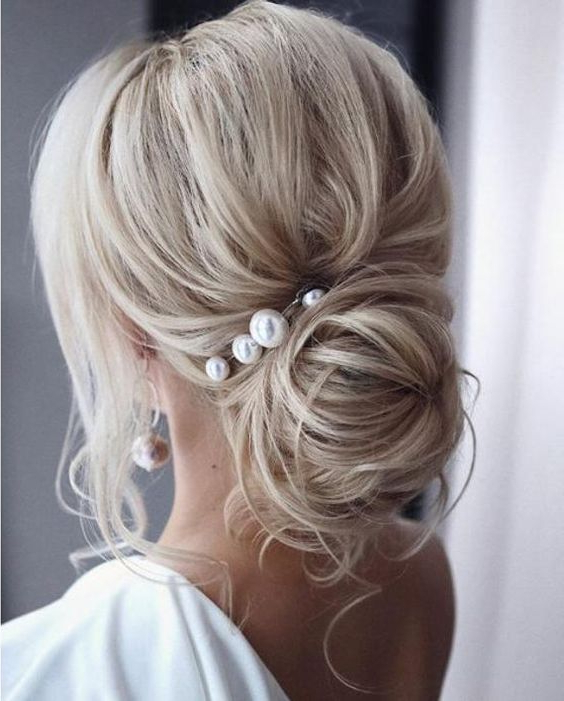 Pearl Hair Pins With Updo Hairstyles 2 Creative Khadija Blog Inside Pearl Bun Updo Hairstyles (View 10 of 25)