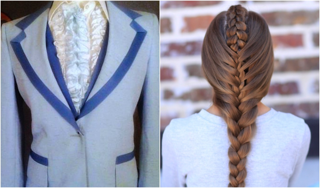 Peek A Boo Tuxedo Braid | Creative Hairstyles | Cute Girls With Regard To Recent Peek A Boo Braided Hairstyles (View 10 of 25)